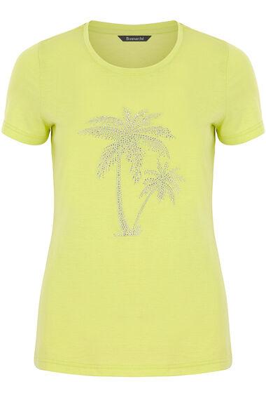 Diamante Palm Tree T-Shirt