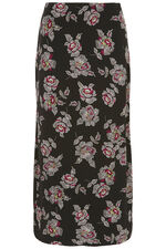 Printed Jersey Tube Skirt