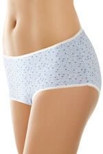 5 Pack Micro Floral Star Briefs