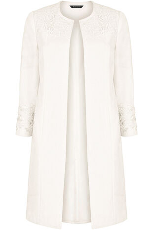 Lace Dress Coat