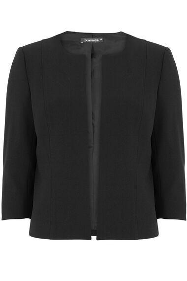 Crepe Short Jacket