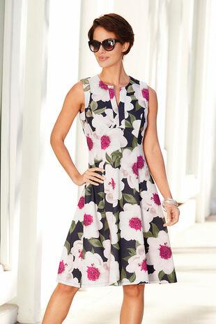 Notch Neck Prom Dress