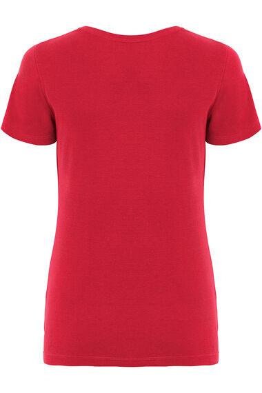 Notch Neck T-Shirt
