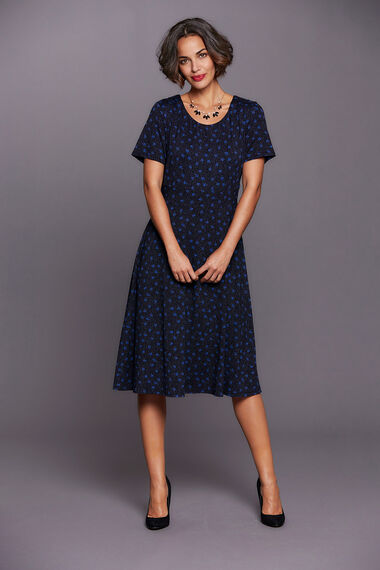 Ditsy Floral Dress and Shrug