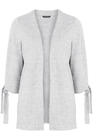 Soft Touch Tie Cuff Cardigan