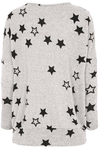 Stella Morgan Star Print Soft Touch Sweater