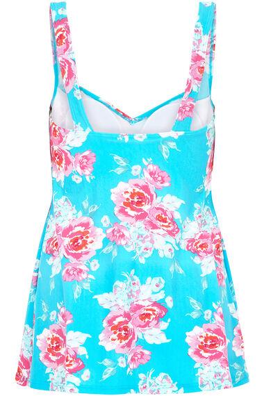 Rose Print Swimdress