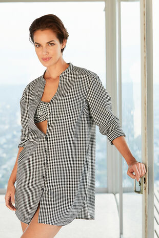 Pure Cotton Lightweight Gingham Shirt