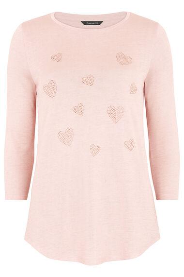 Heart Diamante Sweater