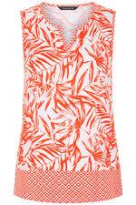 Border Print Palm Vest