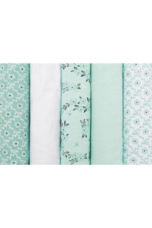 5 Pack Floral Briefs