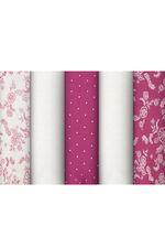 5 Pack Outline Floral Briefs