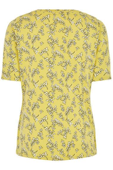 Scoop Half Sleeve Printed T-Shirt