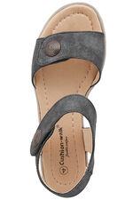 Cushion Walk Touch Fasten Stud Detail Sandal