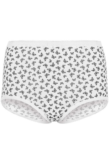 3 Pack Maxi Butterfly Print Briefs