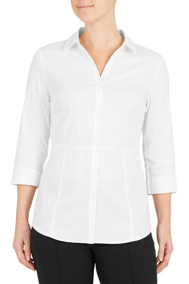 3/4 Sleeve Workwear Blouse