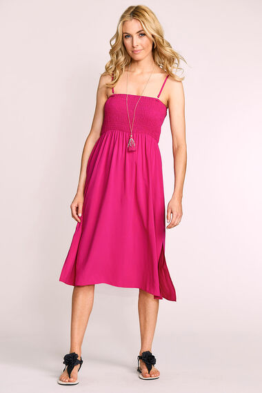 Lightweight Plain Beach Dress