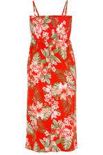 Tropical Print Multiway Beach Dress