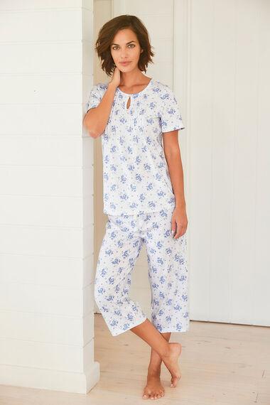Keyhole Detail Pyjama Top