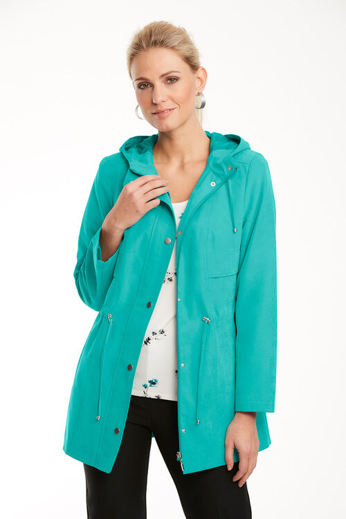 Casual Coat with Hood