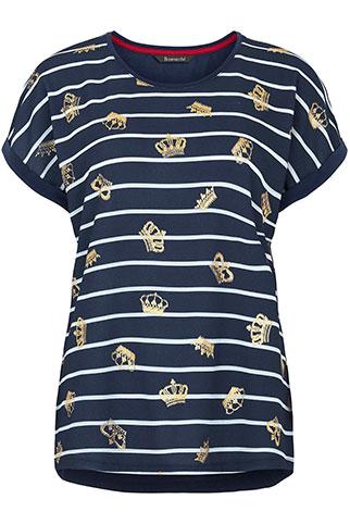 Crown Print T-Shirt