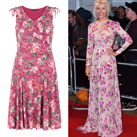Pretty in Pink like… Holly Willoughby