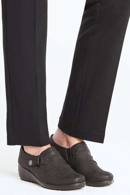 Cushion Walk Slip on Shoe with Decorative Stud
