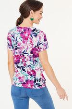 Square Neck Floral Top