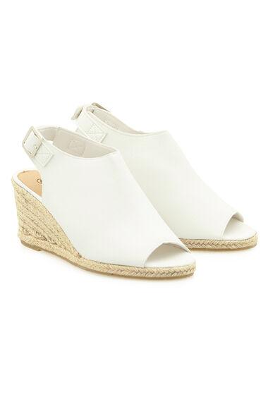 Krush Peep Toe Sling Back Wedge Sandal