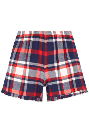 Mix & Match Check Short