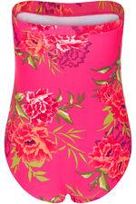 Floral Print Bandeau Swimsuit