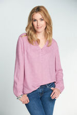 Printed Textured Blouse