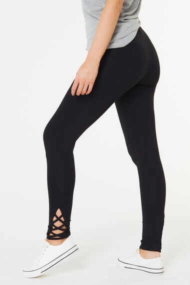 Strap Detail Legging
