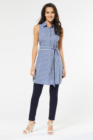 Izabel Striped Dress