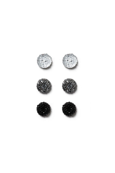 Muse Crystal Pave Ball Multipack Earrings