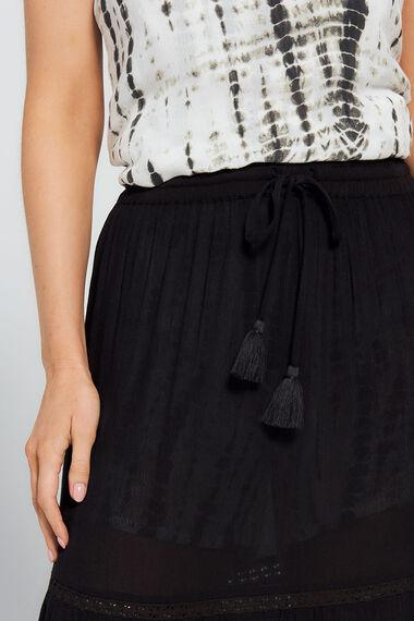 Isla & Rose Lace Tier Skirt