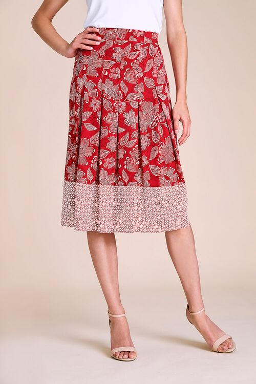 Floral Printed Skirt