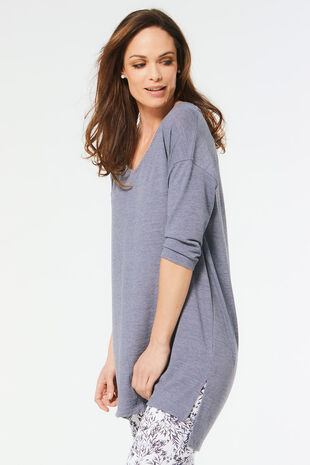 Plain Split Back Tunic