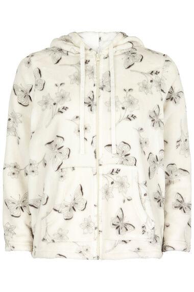 Butterly Fleece Hooded Top