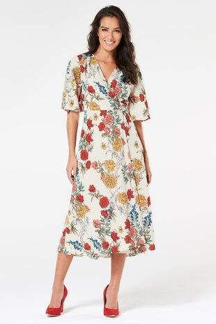 Izabel Wrap Dress