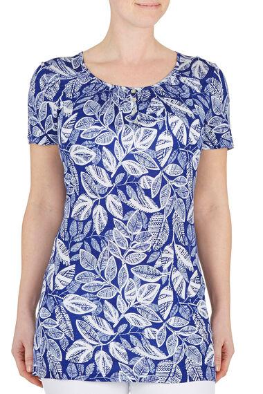 Leaf Print Tunic