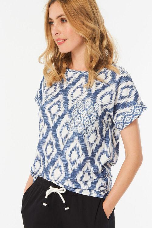 Aztec Print T-Shirt