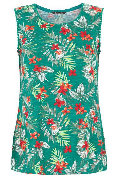 Palm Pom Neckline Vest