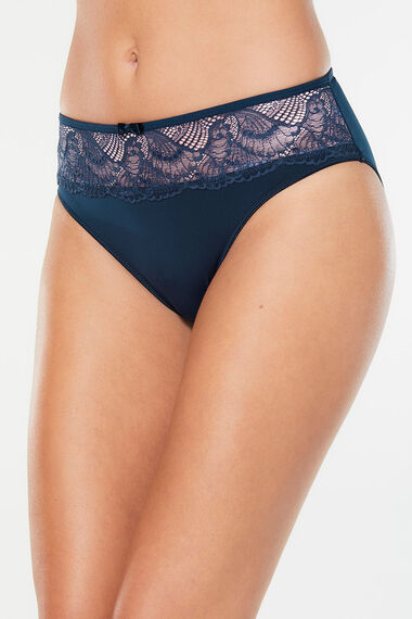 Mesh & Lace Brief