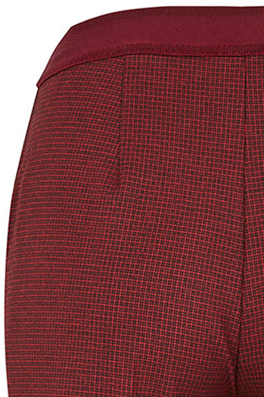 Salvari Slimline Mini Check Trouser