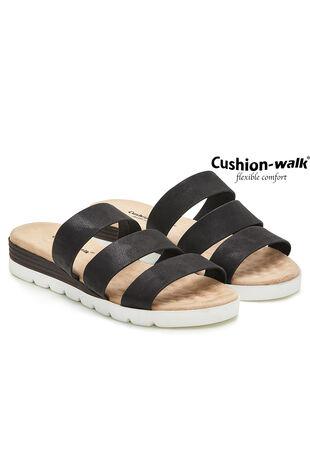 Cushion Walk Florence Triple Strap Mule Sandal