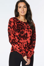 Supersoft Animal Print Jumper