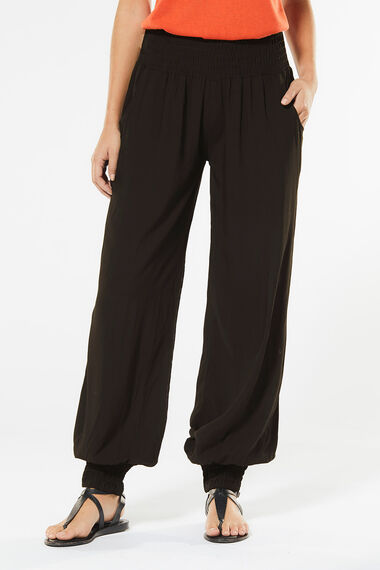 Izabel Plain Harem Trousers