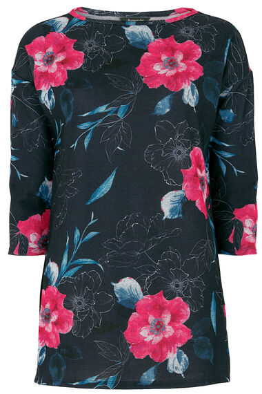 Soft Touch Floral Tunic