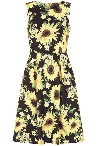 Sunflower Fit and Flare Dress